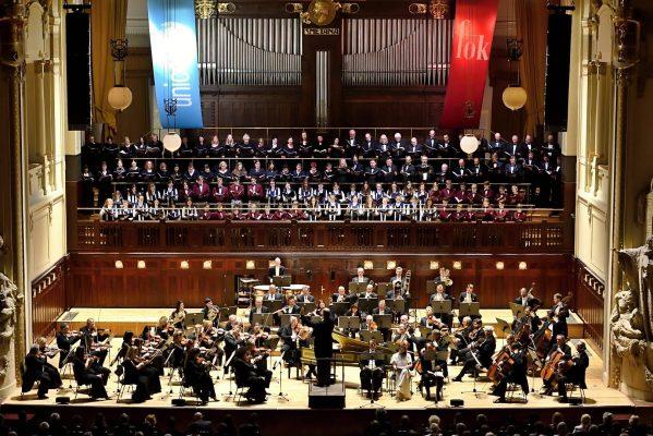 KSS a Haydnovo Stvoření  v Obecním domě v Praze